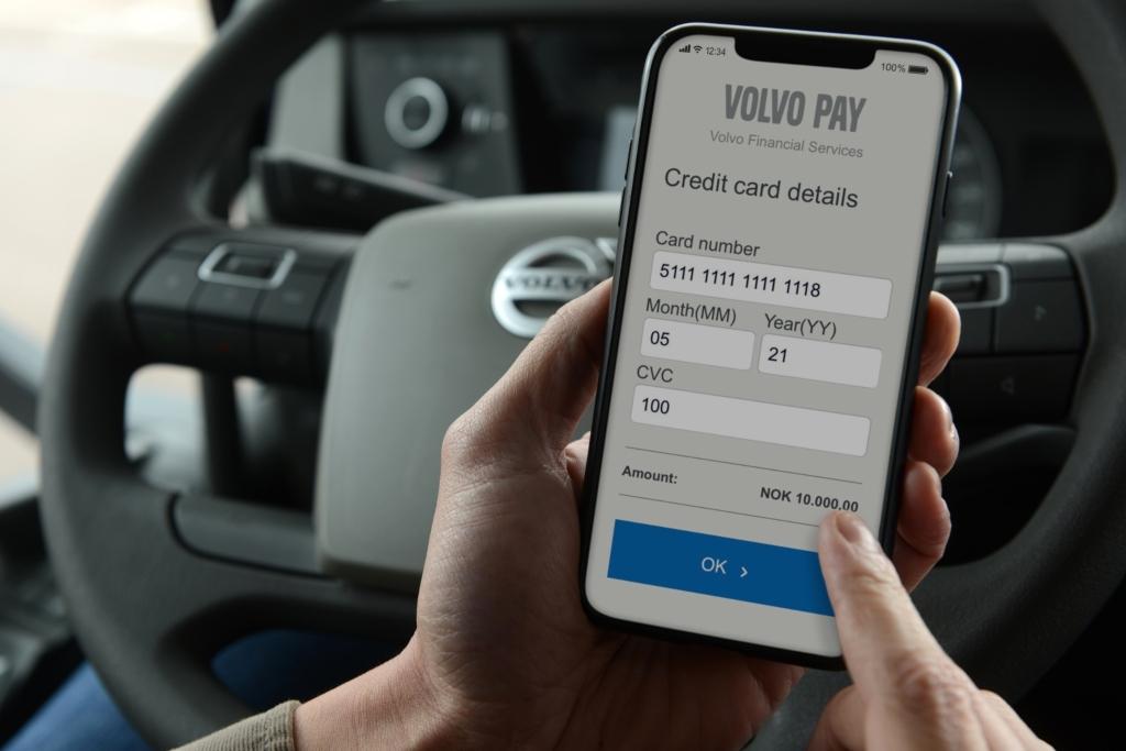 Volvo Pay, la nueva forma de pago