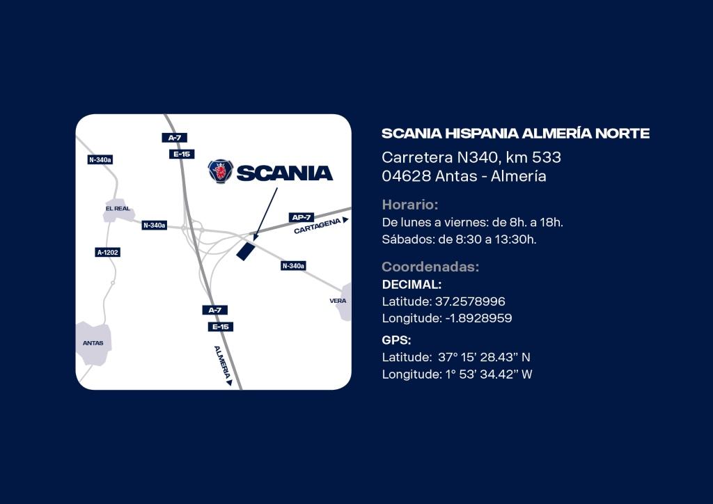 Scania estrena un nuevo concesionario