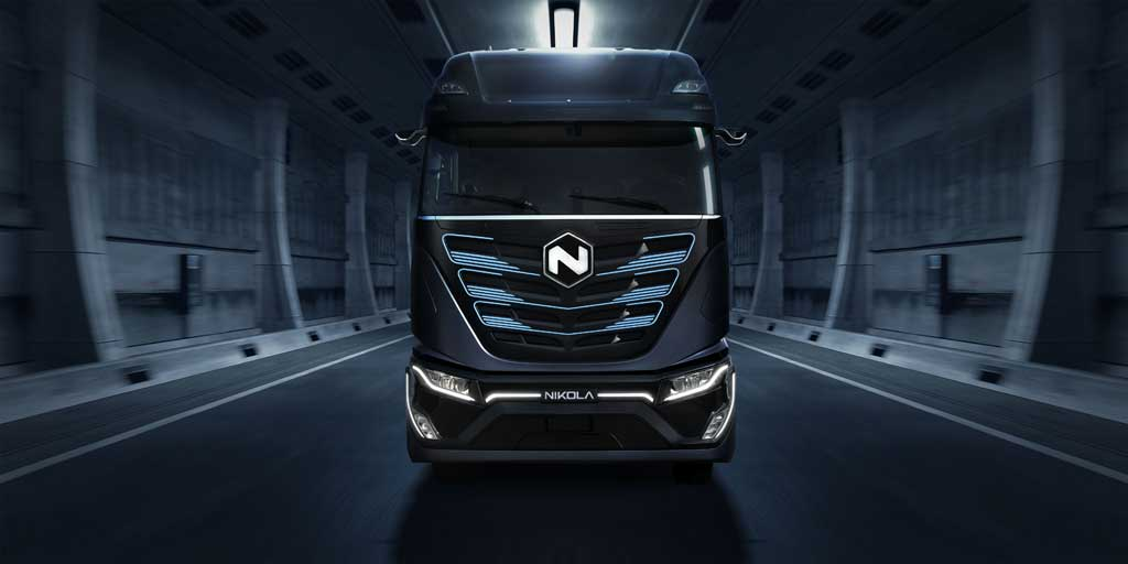El camión eléctrico Nikola Tre será fabricado en Ulm, Alemania.